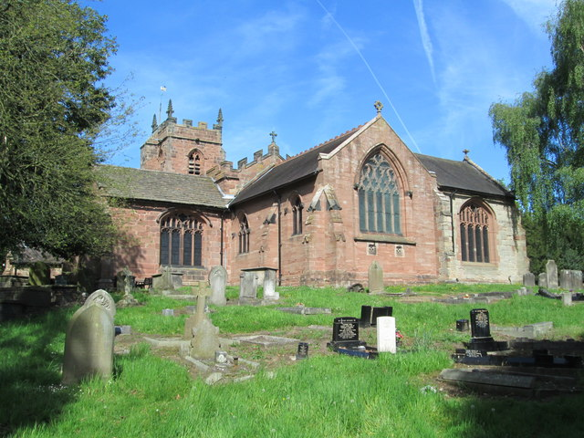 All Saints' Church, Madeley