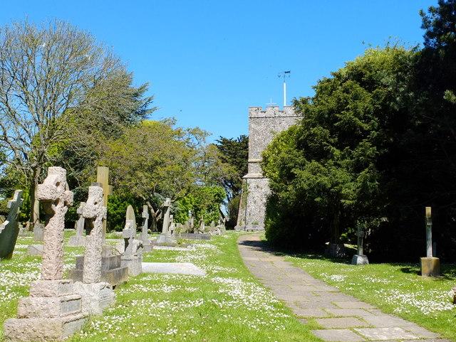 Graveyard at St Margaret's at Cliffe