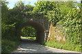 SX7248 : Railway bridge near Wrinkley by Derek Harper