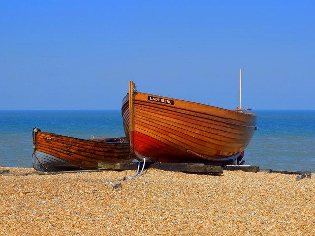 Lady Irene Fishing Boat on Deal Beach