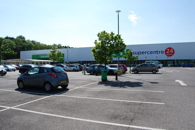 Car park for Asda Supercentre