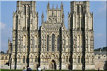 ST5545 : Wells Cathedral by Andrew Abbott