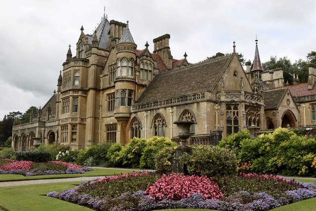 The south front of Tyntesfield