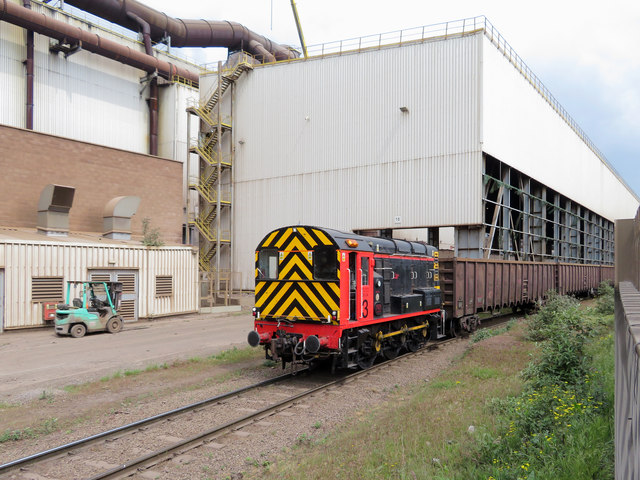Shunting at Celsa by Gareth James