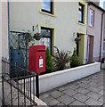 SN5747 : Queen Elizabeth II postbox, Peterwell Terrace, Lampeter by Jaggery