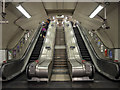 TQ3281 : Escalator, St. Paul's Underground Station by Rossographer