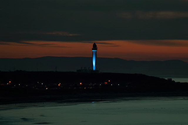 Covesea Lighthouse, Lossiemouth