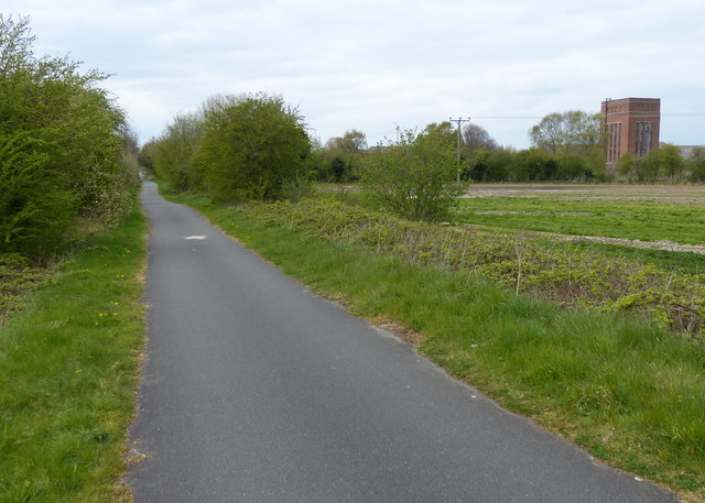 Chester Railway Path at Deeside