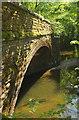 SX7349 : Former railway bridge over the Avon by Derek Harper