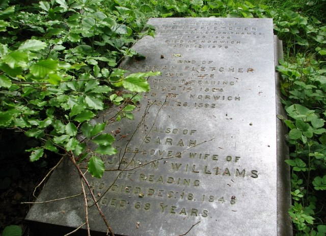 The grave of Josiah Fletcher