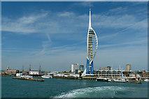 SZ6299 : Emirates Spinnaker Tower, Portsmouth by Robin Drayton