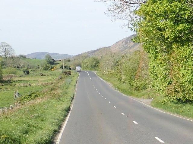 The B30 between Sturgan Brae and Lislea
