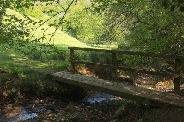 Footbridge below Reads Farm