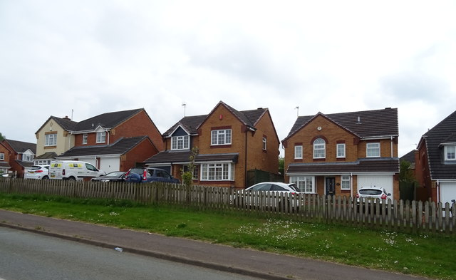 Houses on Limepit Lane, Huntington