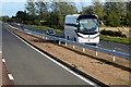 NO5559 : Executive Coach on the A90 south of Brechin by David Dixon