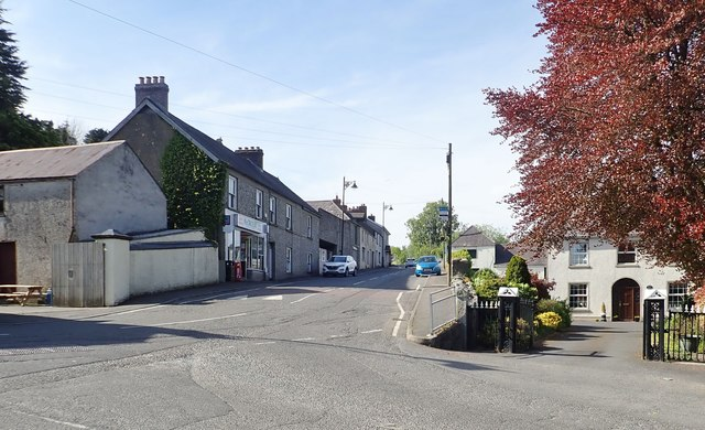 The lower end of Church Street, Forkhill
