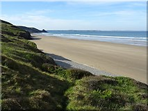 SM8520 : Newgale Sands by Philip Halling