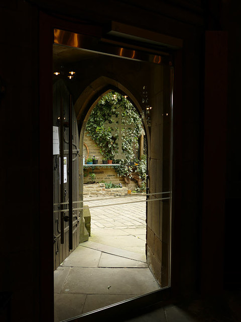 St Michael's Haworth -  inner door