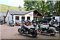 NS8713 : Busy Wanlockhead Inn by Billy McCrorie