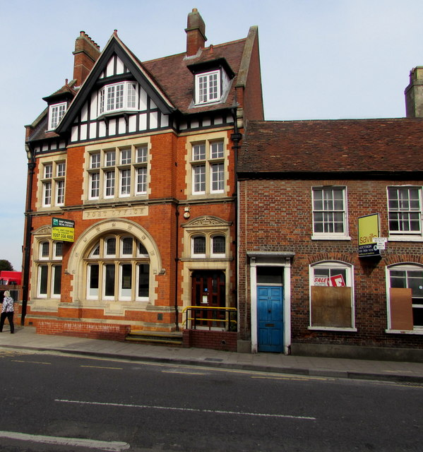 Grade II Listed former Newbury Post Office