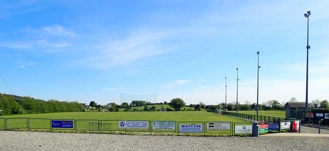 The main pitch at Pairc Peadar O' Doirnin, Forkhill