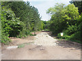 TL7898 : Hardcore for upgrading Forest road by David Pashley
