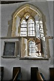 SY1988 : Branscombe, St. Winifred's Church: c14th windows in the chancel (south) by Michael Garlick