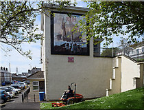 "C4316 : ""The Relief of Derry"" mural, Derry / Londonderry by Kenneth  Allen"