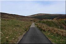 NC9410 : Start of the Narrow Road that runs through Glen Loth by Chris Heaton