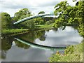NZ2015 : Pipe bridge over the Tees by Oliver Dixon