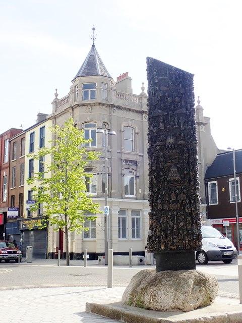 Public art in Marcus Square, Newry