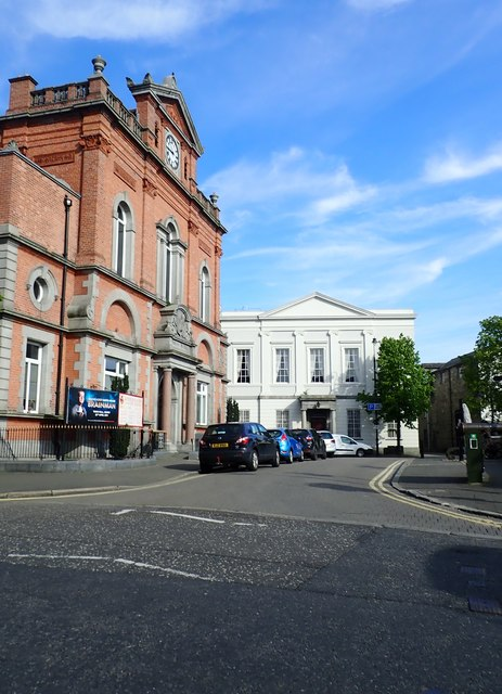 Newry City Hall from Kildare Street