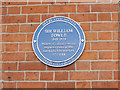 SK3635 : Plaque to Sir William Towle by Stephen Craven