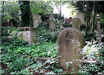 TG2408 : The grave of Susanna and Zachariah Bright by Evelyn Simak