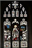 ST6834 : Bruton, St. Mary's Church: Stained glass window by Michael Garlick
