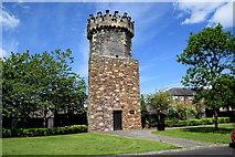 """C4316 : """"Old Derry"""" Jail Tower by Kenneth  Allen"""