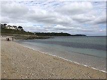 SW8031 : Gyllyngvase Beach Falmouth by Chris Thomas-Atkin