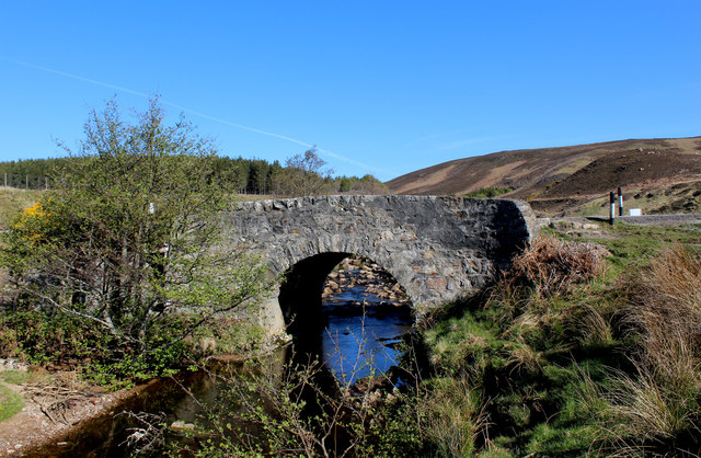 Bridge across the Kildonan Burn