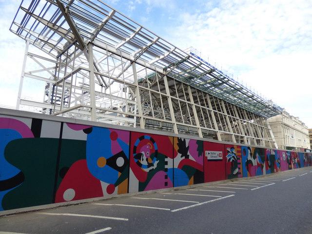 Queen Street railway station redevelopment