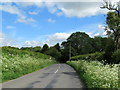 SO9363 : School Road Near West Lodge Hanbury by Roy Hughes