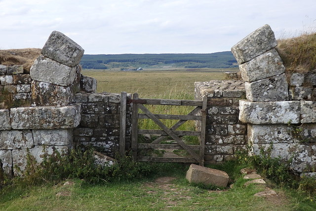 Border gate, Milecastle 37, Hadrian's Wall