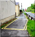 SN7810 : No Parking area at the edge of Pelican Street, Ystradgynlais by Jaggery