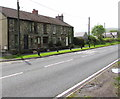 SN7810 : Row of four stone houses in Ystradgynlais by Jaggery