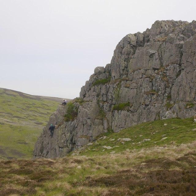 Climbing, Housey Crags