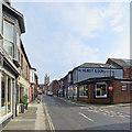 SZ4989 : Newport: up Holyrood Street by John Sutton