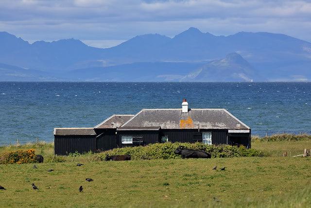 A holiday hut at Balkenna