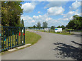 TL1567 : Entrance to Grafham Water Sailing Club by Des Blenkinsopp
