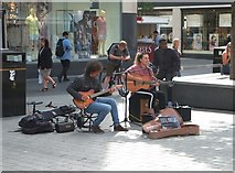 SJ3490 : Liverpool Buskers by Anthony O'Neil