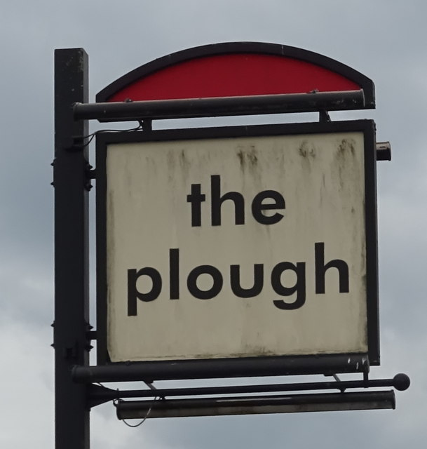 Sign for the Plough, Gresford