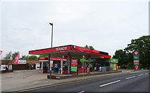 SJ3454 : Service station on Chester Road, Gresford by JThomas